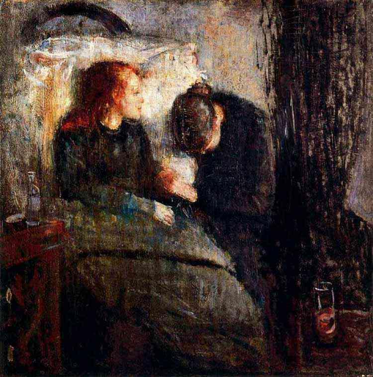 Edvard Munch - A menina enferma