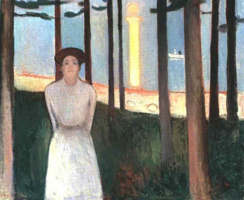 Edvard Munch - Sonho de uma noite de verão (A voz)