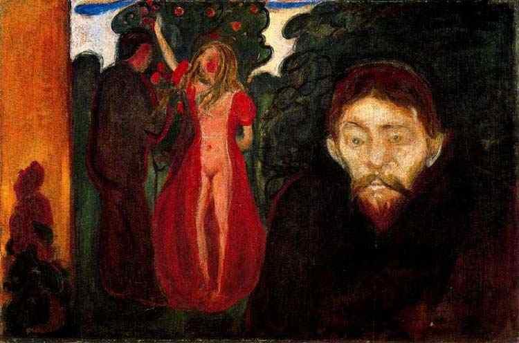 Edvard Munch - Jealuosy (Expressando sentimento)