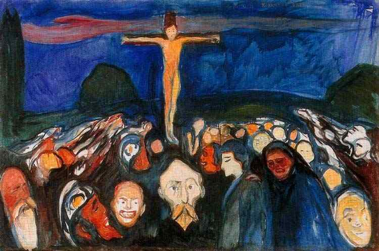 Edvard Munch - Gólgota