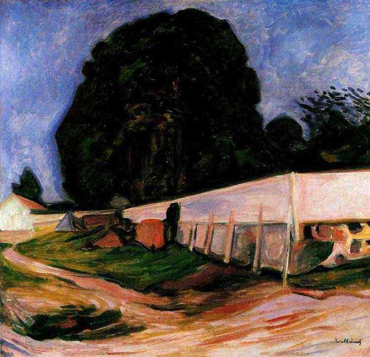 Edvard Munch - Noite de verão em Aasgaardstrand