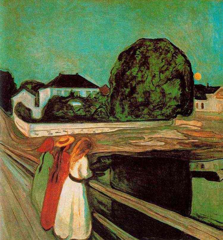 Edvard Munch - A ponte