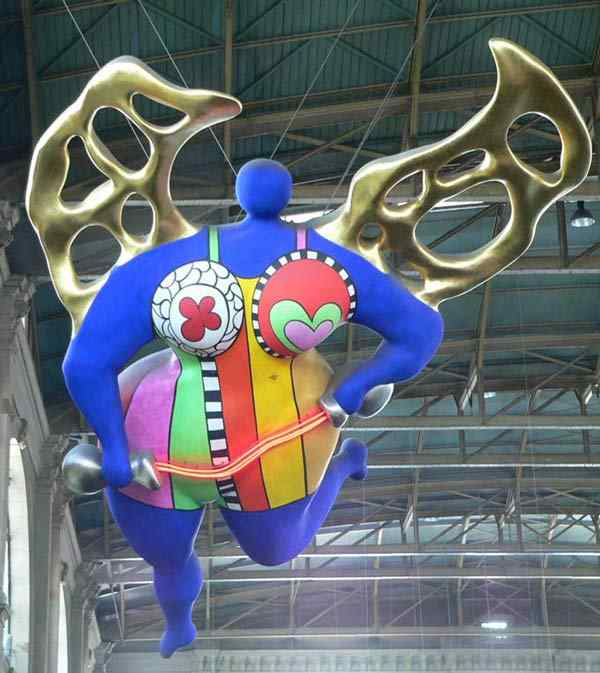 Niki de Saint Phalle - Anjos dos viajantes