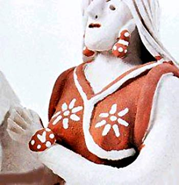 Noemisa Batista - Mulher com relógio