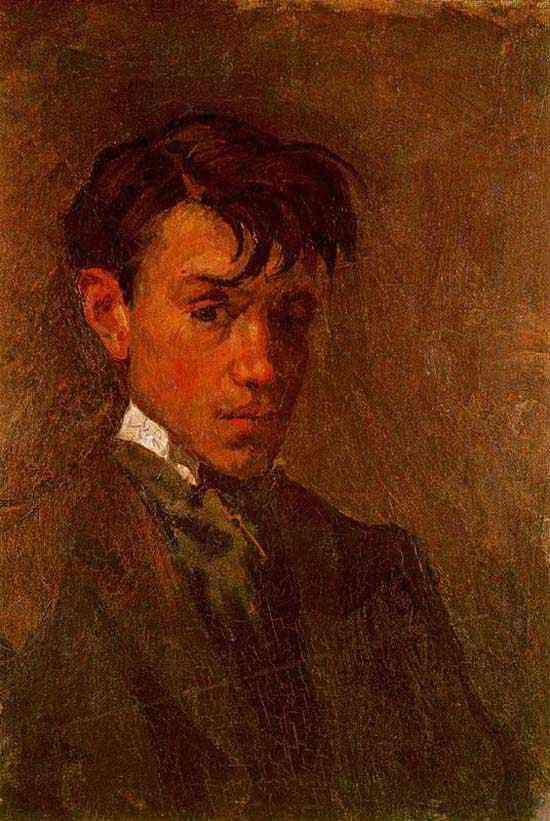 Pablo Ruiz Picasso - Auto-retrato mal penteado
