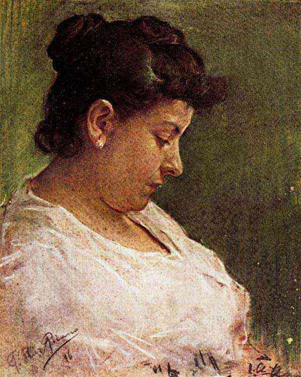 Pablo Ruiz Picasso - Retrato da mãe do artista