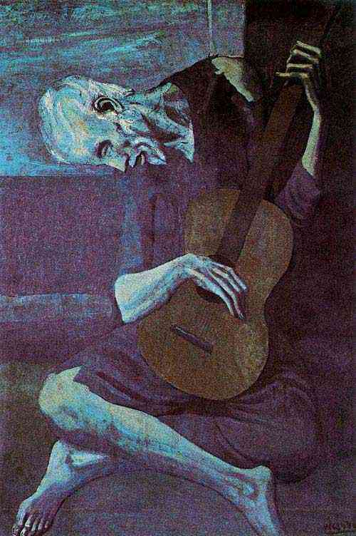 Pablo Ruiz Picasso - O velho guitarrista cego