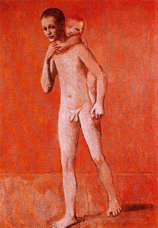 Pablo Ruiz Picasso - Os dois irmãos