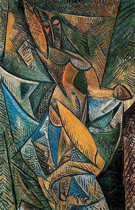 Pablo Ruiz Picasso - A dança dos véus (Nu com véus)