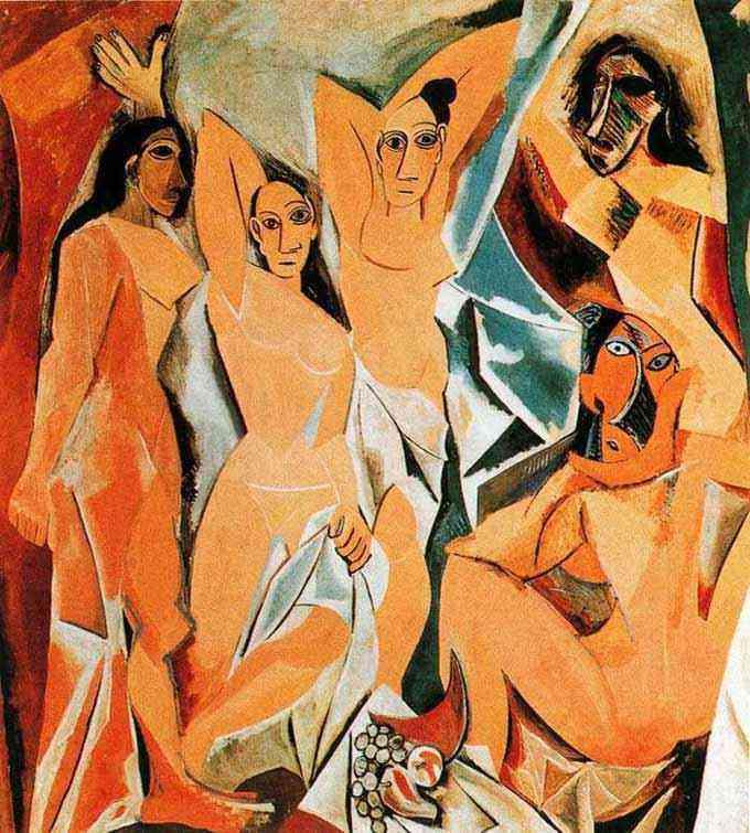 Pablo Ruiz Picasso - As senhoritas de Avignon