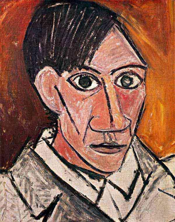 Pablo Ruiz Picasso - Auto-retrato
