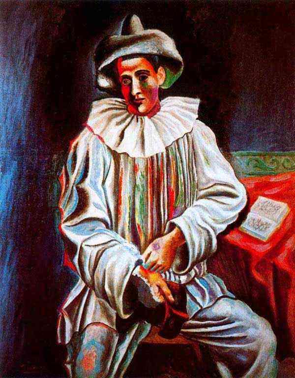 Pablo Ruiz Picasso - Pierrot