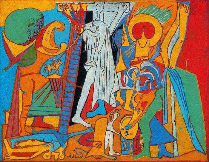 Pablo Ruiz Picasso - A crucificação