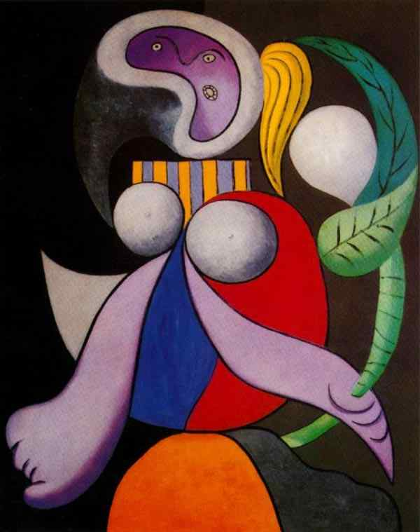 Pablo Ruiz Picasso - Mulher com flor