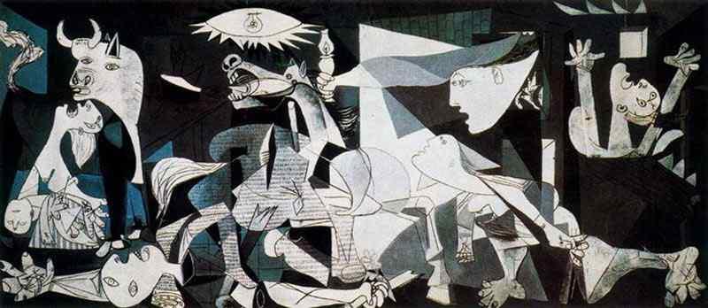 Pablo Ruiz Picasso - Guernica