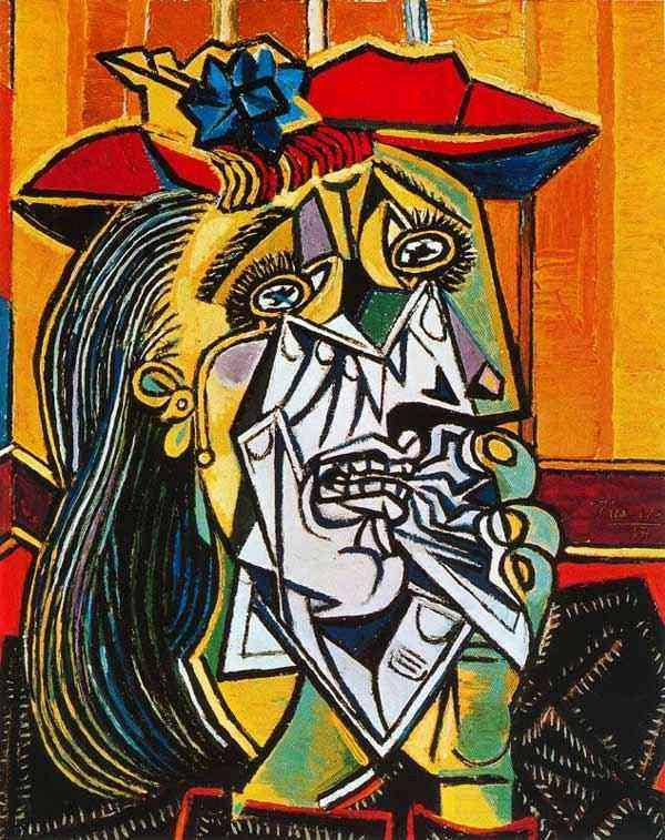 Pablo Ruiz Picasso - Mulher chorando