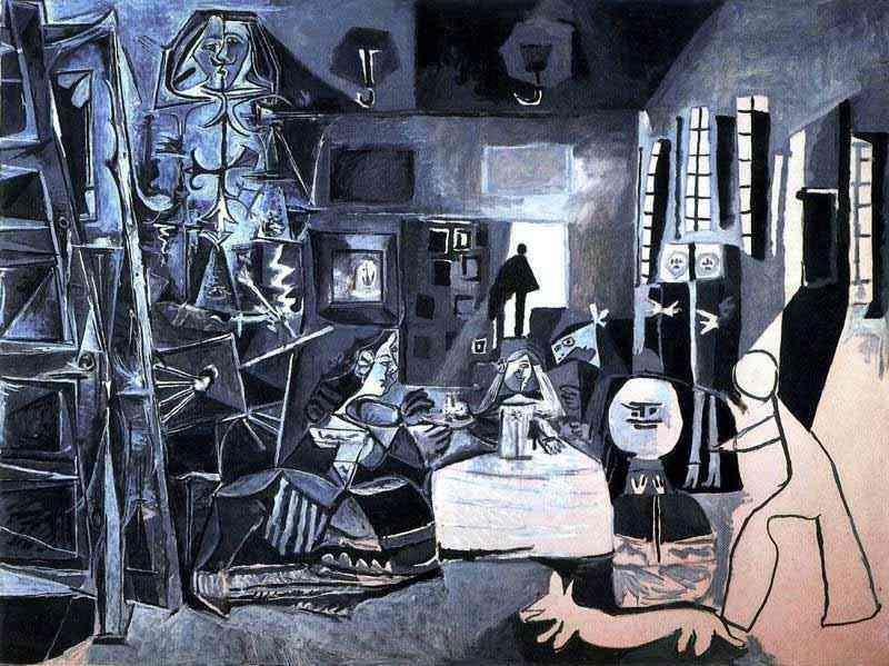 Pablo Ruiz Picasso - As meninas (segundo Velázquez)