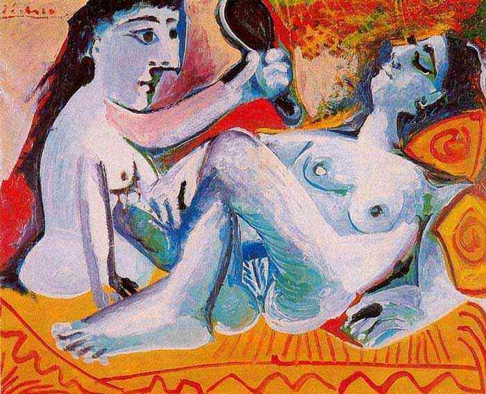 Pablo Ruiz Picasso - As duas amigas
