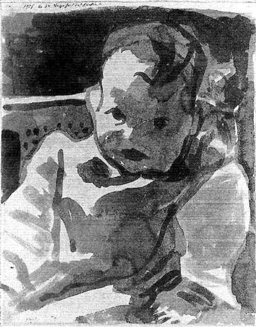 Paul Klee - Retrato de um menino