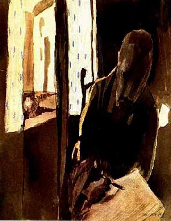 Paul Klee - O artista na janela