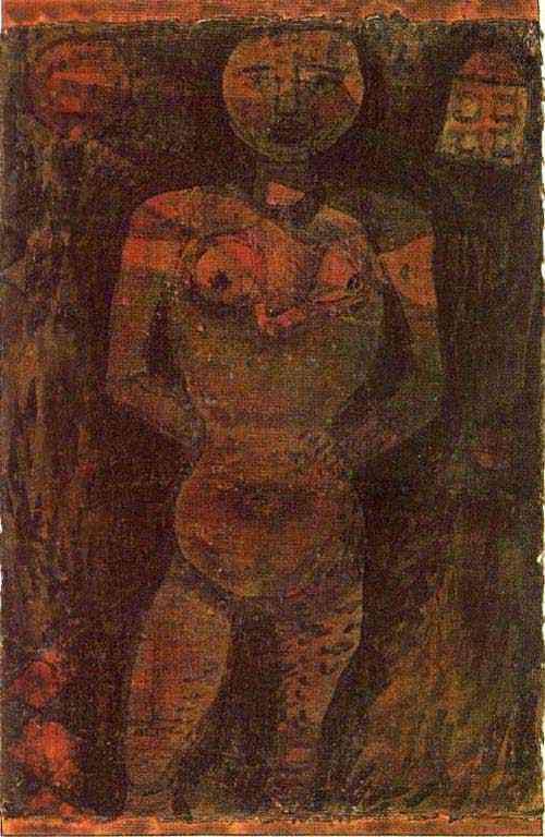 Paul Klee - Nu feminino