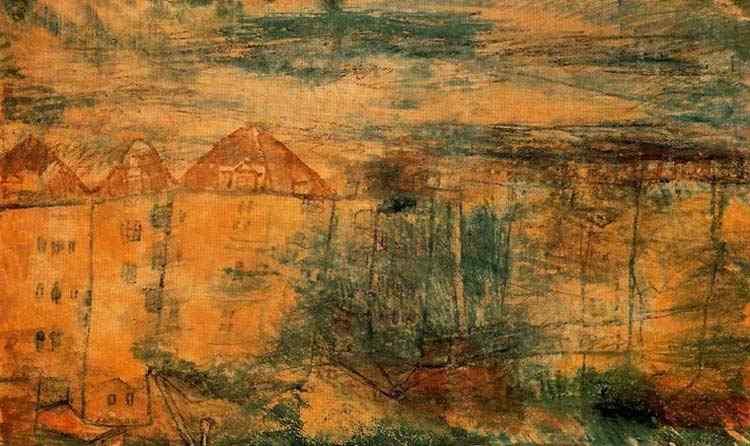 Paul Klee - Vista de uma praça