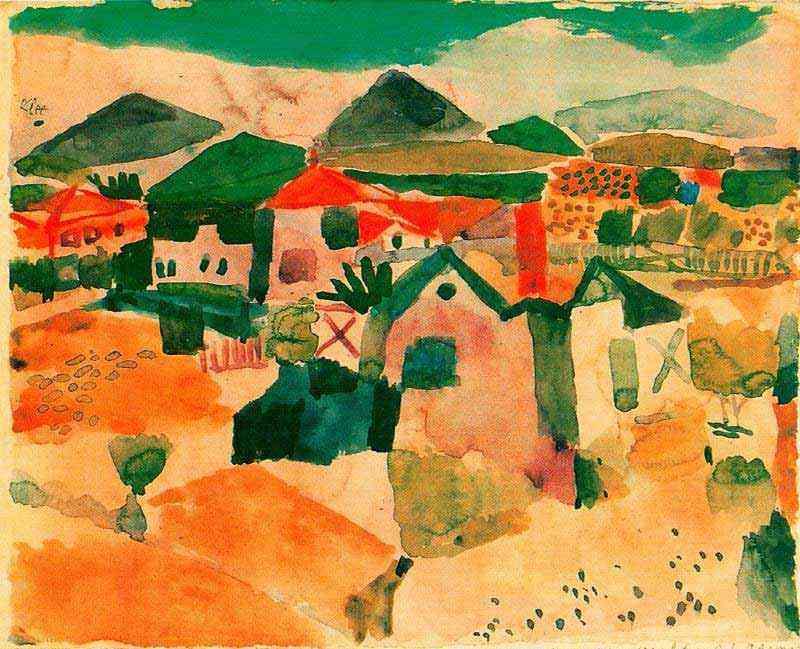 Paul Klee - Vista de Saint Germain