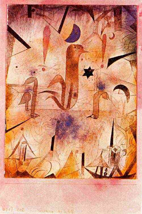 Paul Klee - Aviso dos barcos