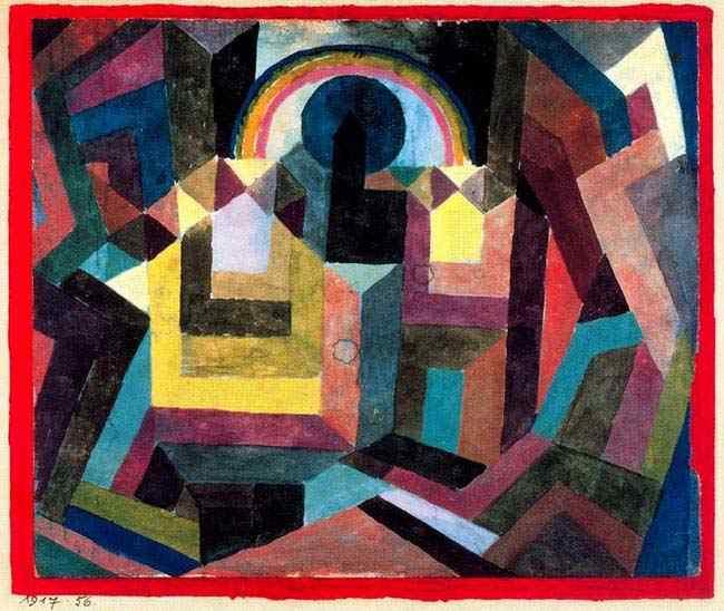 Paul Klee - Com arco-íris