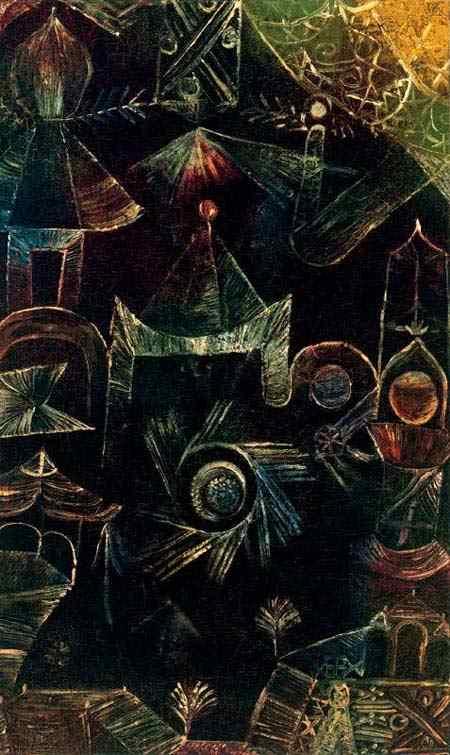 Paul Klee - Arquitetura cósmica