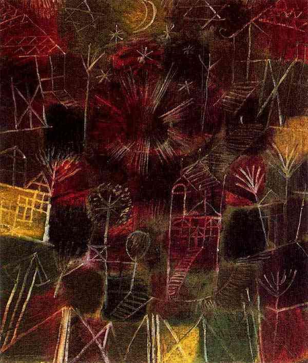Paul Klee - Composição cósmica