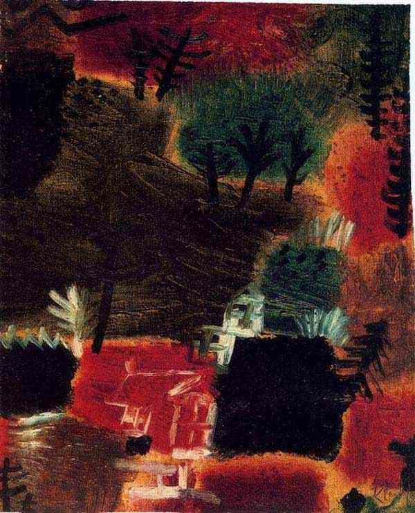 Paul Klee - Pequena paisagem