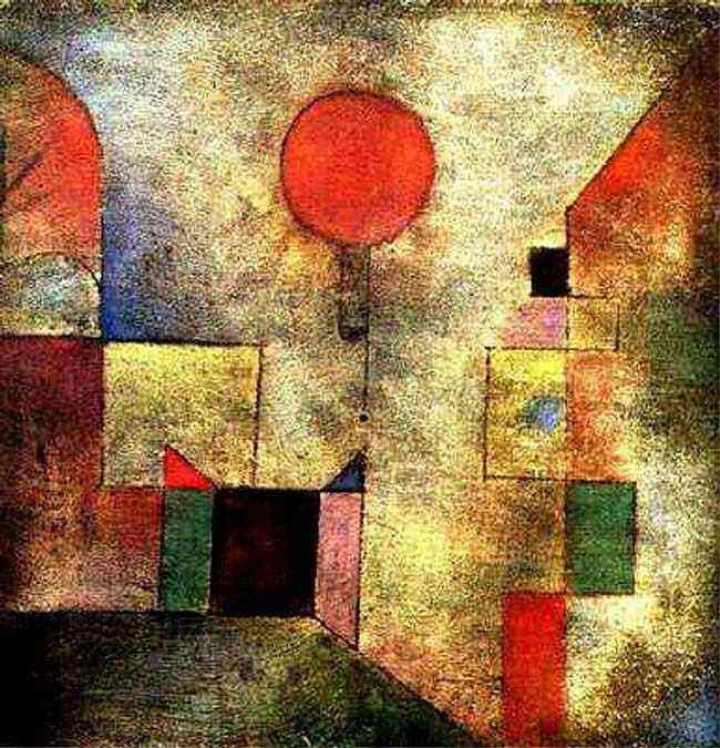 Paul Klee - Balão vermelho
