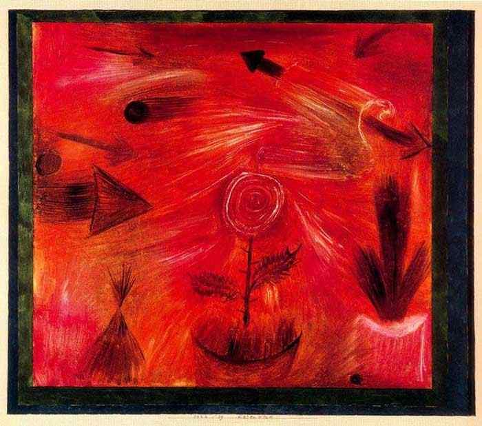 Paul Klee - Vento rosa