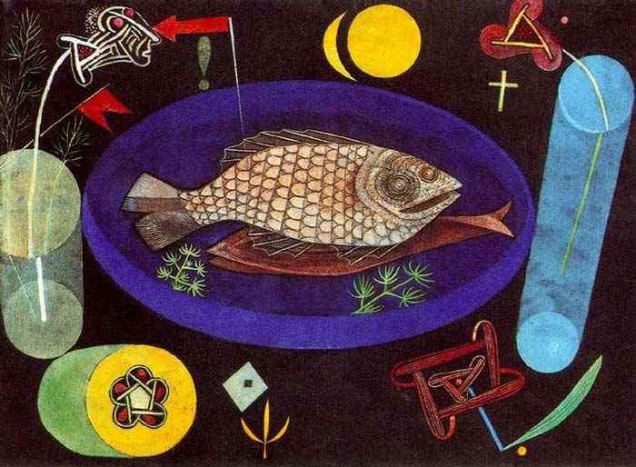 Paul Klee - Em torno do peixe