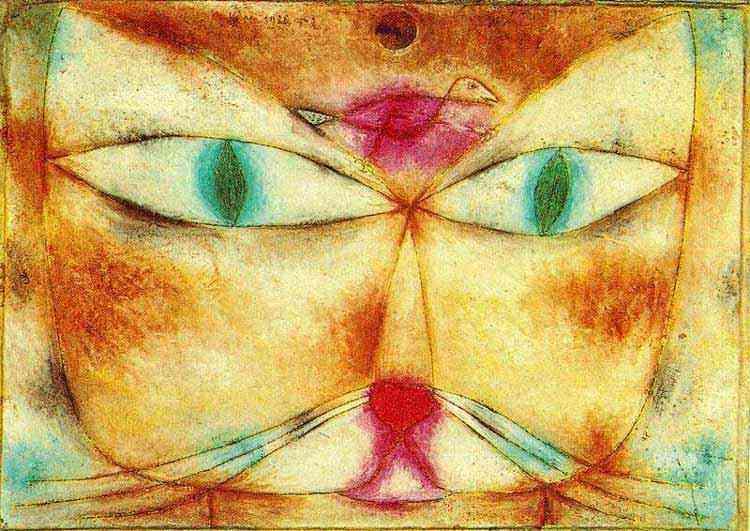 Paul Klee - Gato e pássaro