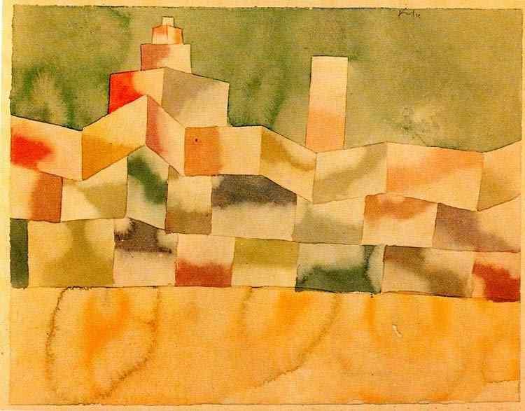 Paul Klee - Arquitetura oriental