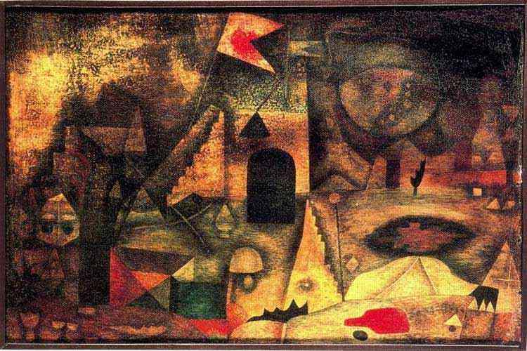 Paul Klee - Parque romântico