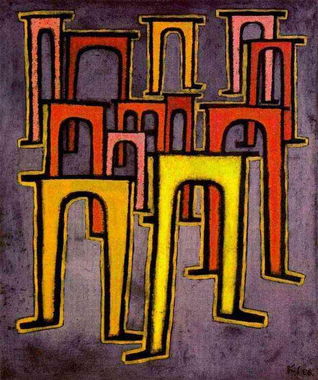 Paul Klee - Descrição de um quadro; Revolução do viaduto