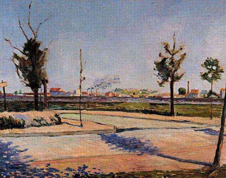 Paul Signac - A estrada para Gennevilliers