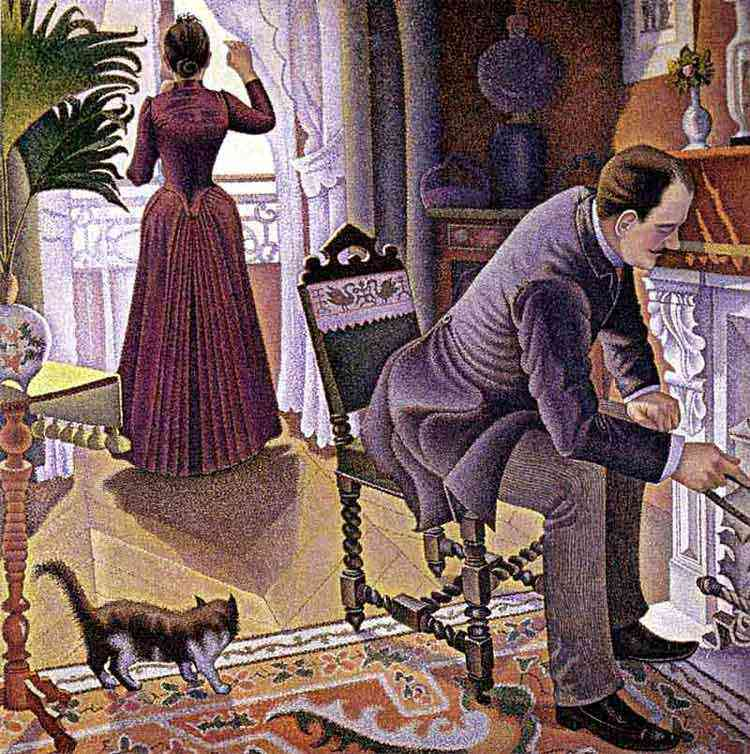 Paul Signac - Domingo