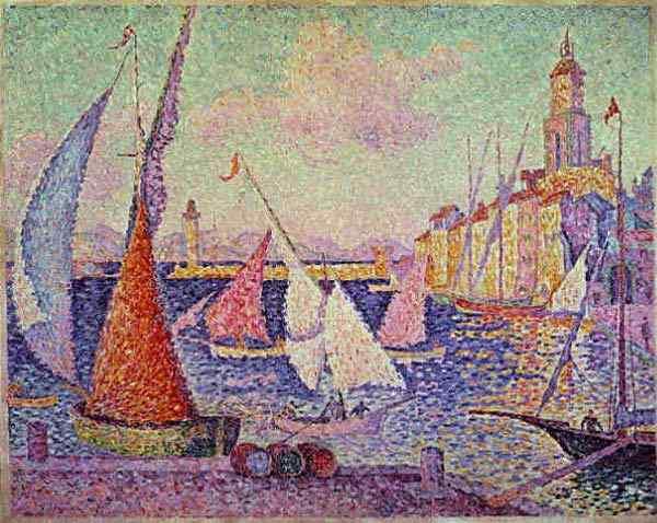 Paul Signac - Porto de Saint-Tropez