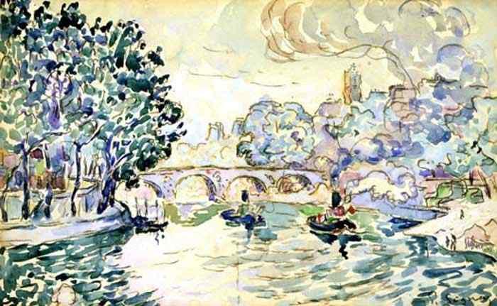 Paul Signac - A ponte Marie