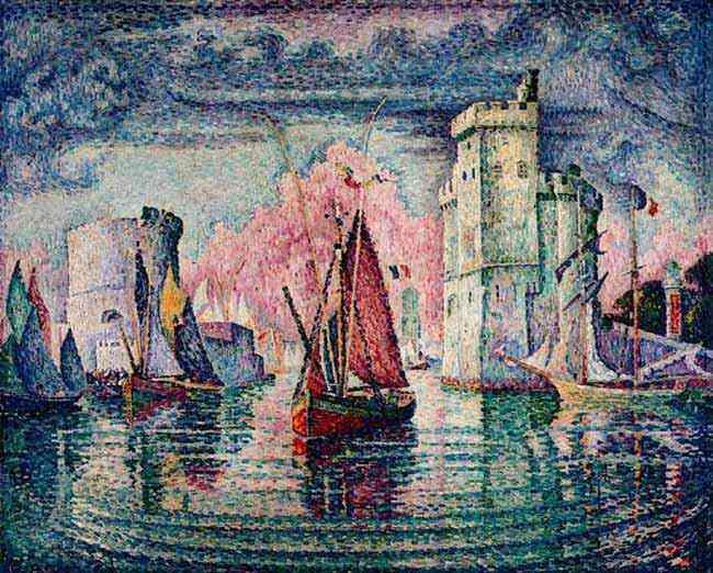 Paul Signac - Porto de La Rochelle