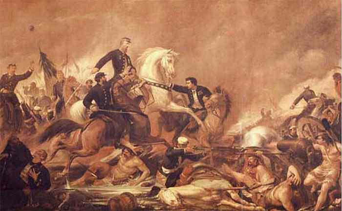 Pedro Américo - Batalha de Campo Grande