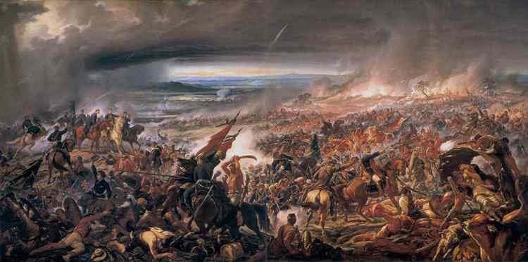 Pedro Américo - Batalha do Avahi