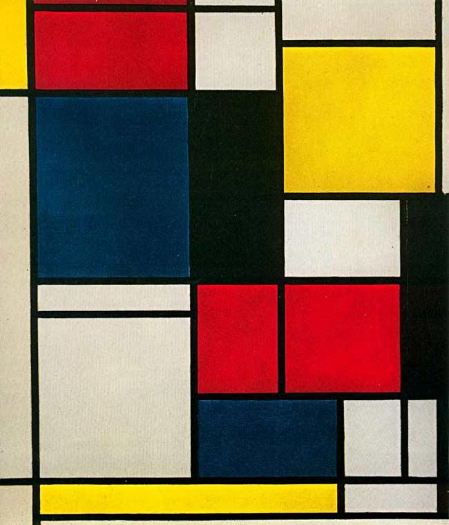 Piet (Pieter Cornelis Mondrian) Mondrian - Quadro nº 2