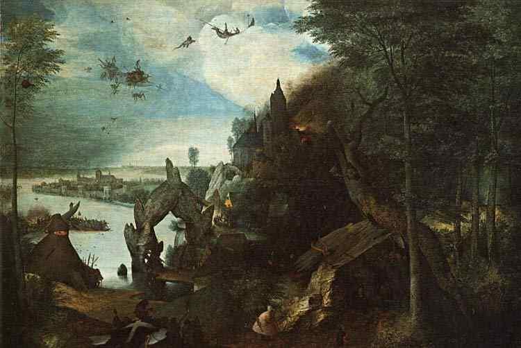 Pieter Brueghel - A tentação de Santo Antônio