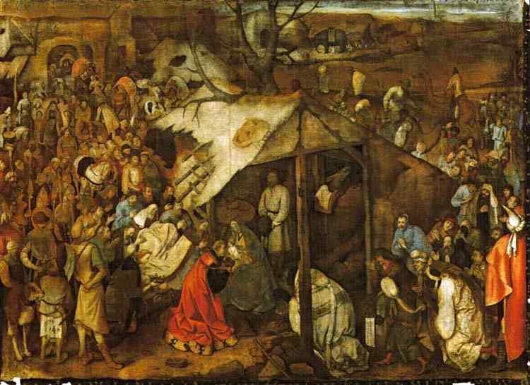 Pieter Brueghel - A adoração dos magos