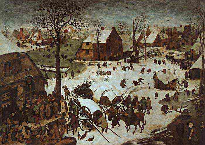 Pieter Brueghel - O censo em Belém